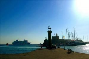 sailing Rhodes
