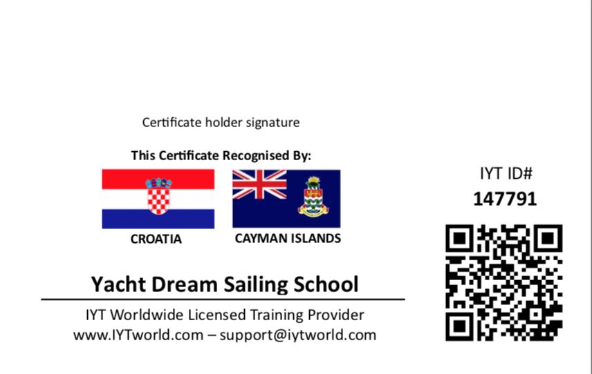 2f5c1f689e38 Этот сертификат настолько важен, что во многих странах его спрашивают в  первую очередь, перед тем как выдать вам яхту в чартере.