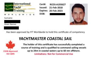 Yachtmaster Coastal